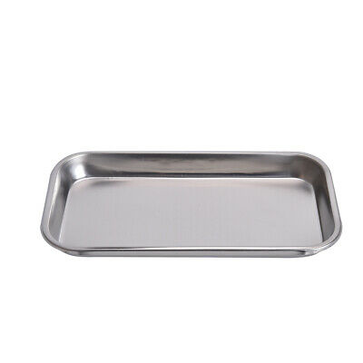 1pc Square Plate Tray Stainless Steel 23* 12 CM Dental Instrument Tool