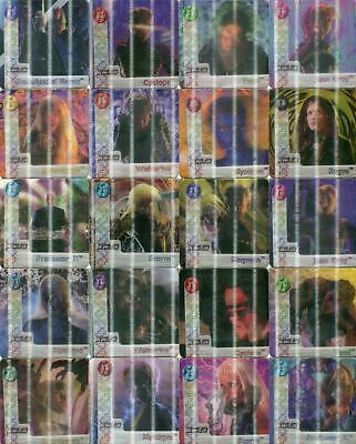 X-Men The Movie Edition Action Flipz Card Set 40 Action Flipz Cards Artbox 2000