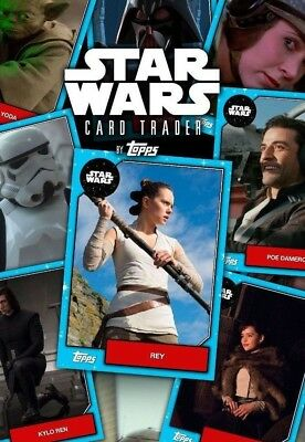 Topps DIGITAL Star Wars Card Trader - YOU PICK - 9 of ANY from ACCOUNT