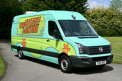 One Direction's Vw Crafter Tour Bus / Mystery Machine / Day Van / Camper Van