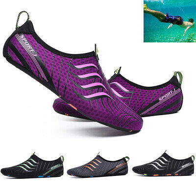Aqua Surf Beach Sports Wet Water Shoes Mens Womens Outdoor Wetsuit Swim Shoes UK