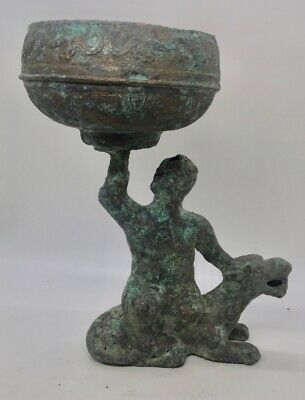 Man with Bowl and Tiger - Fascinating Antiquity