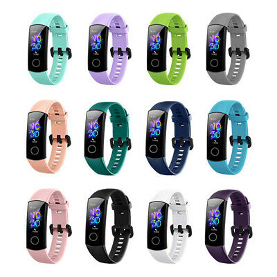 Wristbands Silicone For Huawei Honor Band 5 4 Replacement Strap Watch Band