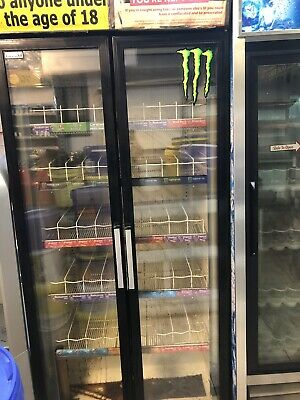 Lucozade Drinks Chiller. Good Working Order. 2080w X 855w X 700d