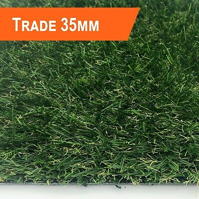 Trade 35mm Artificial Grass - Quality Realistic Fake Garden Lawn Grass - 2m & 4m