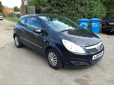 Vauxhall Corsa 1.2 Cdti Diesel,2008,Mot November,Starts And Drives Well,2 Owners