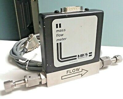 MKS Instruments 0258C-0200RV-SPCAL Mass Gas Flow Meter Controller 2000 SCCM