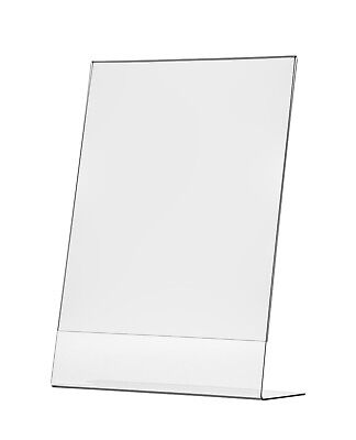 """11""""W x 17""""H Graphic Poster Frame Table Sign Holder Display Stand Slanted Qty 6"""