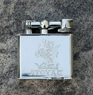 Vintage Sterling Silver Lift Arm Lighter - Mexico - Ormex - Atoyac