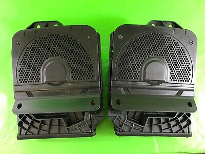 Bmw 3 Series F30 Pair Of Bass Subwoofer Speakers Driver + Passenger 2011-2015