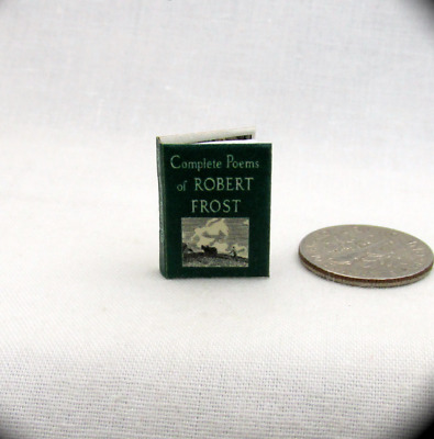 1:12 SCALE MINIATURE BOOK BLUE BEARD PRE 1900 DOLLHOUSE SCALE