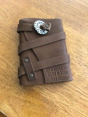 Portland Leather Goods Brown Leather Journal New