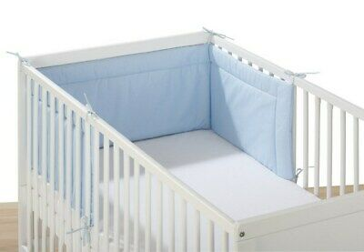 Pink Breathable Infant Baby Bed Cot Bumper Crib Liner Protection Pad