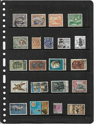 Commonwealth CYPRUS One Stock Sheet Mixed Used Stamps Collection