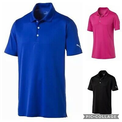 Puma Rotation Polo Mens Golf Shirt - New 2019 - Pick Size & Color