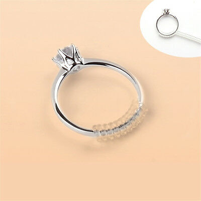 8pcs spiral based ring size adjuster ring guard original ring size adjusterLs
