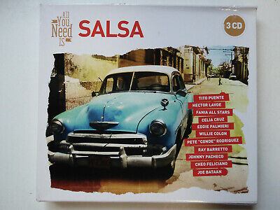 VARIOUS <>  All You Need Is Salsa  <> VG (3CD)