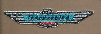 New 1 X 4 5/8 Inch Ford Thunderbird Iron On Patch Free Shipping P1