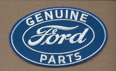 New 2 1/2 X 4 1/8 Inch Genuine Ford Parts Iron On Patch Free Shipping P1