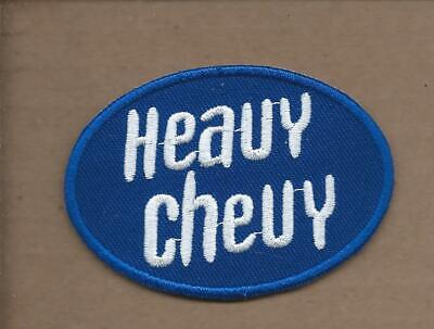 New 2 X 3 Inch Chevrolet Heavy Chevy Iron On Patch Free Shipping P1