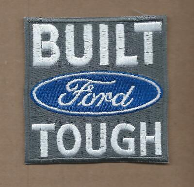 New 3 Inch Built Ford Tough Iron On Patch Free Shipping P1