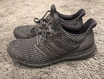 online store 00b55 0b9bd ADIDAS ULTRA BOOST Ultraboost 4.0 Triple Black BB6171 Size Mens 9 VERY NICE!
