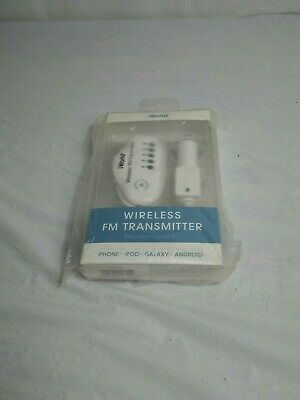 iWorld Wireless FM Transmitter iPhone iPod Galaxy Android Car