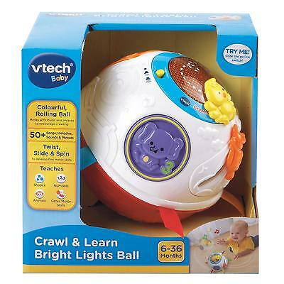 New Vtech Baby Infant Toy Play Crawl And Learn Bright Lights Ball 151503