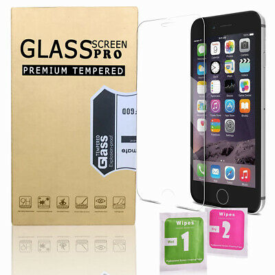 Phone Screen Protector Best Tempered Glass Protection for iPhone X 8 7 6 6s Plus
