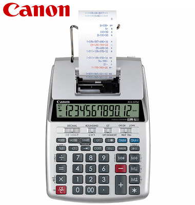 Canon P23-DTSC II 2-Colour Printing Calculator 12 Digits P23DTSCII