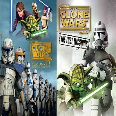 Star Wars Clone Wars The Complete Seasons 1-6 Brand New! $81.99 USA Seller!