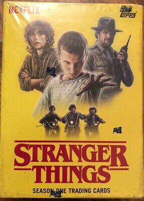 2018 Topps Netflix  Stranger Things Season One Blaster Box Exclusive Patch Card