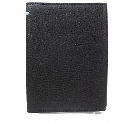 Authentic Tiffany & Co. Diary Cover  Black Leather 352287
