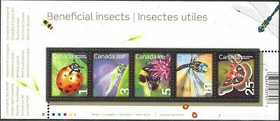 2007 Canada #2238a Mint Never Hinged Souvenir Sheet Beneficial Insects