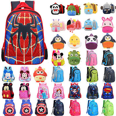 Kids Anti-Lost Safety Harness Plush School Shoulders Bags Kindergarten Rucksack