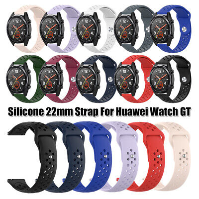 Soft Silicone Watch Band Wrist Strap Bracelet 22mm For Huawei Watch GT