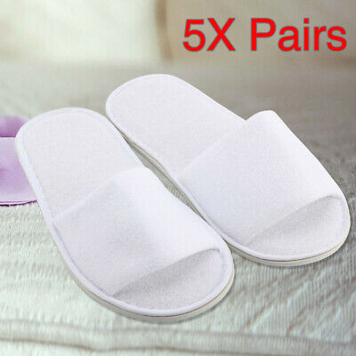 Close Toe Terry Towelling Slippers Hotel Supplies 30//50//100 Pairs Unisex Open