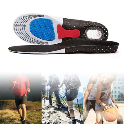 Gel Orthotic Insoles Sport Running Inner Soles Cushion Heel Arch Support Gym PRO