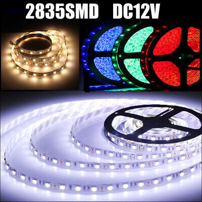 Indoor And Outdoor Flexible Strip Light 5M Cool White 6000K 12V 2835 Smd Led
