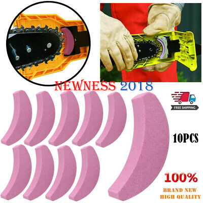 10X Chainsaw Teeth Sharpener Sharpens Chainsaw Saw Chain Sharpening System Stone