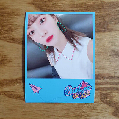 Binnie Official Photocard Printing Concept Zone Oh My Girl Fall in Love