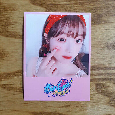 Yooa Official Photocard Printing Concept Zone Oh My Girl Fall in Love