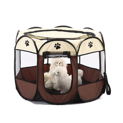 Hundezelt Hunde Faltzelt Transportbox Katzen Welpen Octangle Tragbar Outdoor