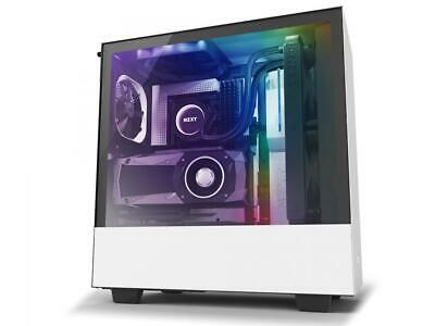 NZXT H510i - Compact ATX Mid -Tower PC Gaming Case - Front I/O USB Type-C Port -