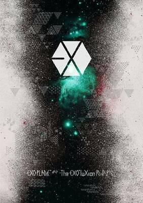 NEW EXO PLANET #2 The EXO'luXion IN JAPAN First Limited Edition 2 DVD Photobook