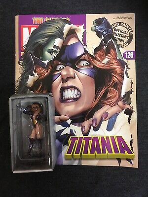 + MARVEL EAGLEMOSS FIGURINE COLLECTION # 126 TITANIA