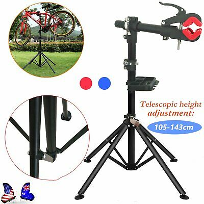 NEW New BIKE REPAIR WORK STAND WITH BONUS TOOL TRAY FOR HOME BICYCLE MECHANIC SW