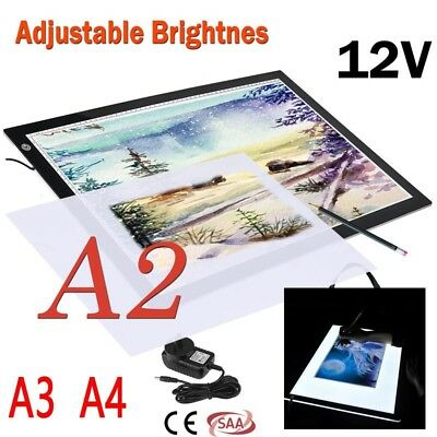 A2/A3/A4 LED Light Box Tracing Drawing Board Art Design Pad Copy Lightbox SW