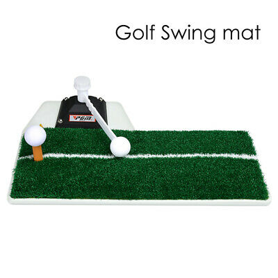 Golf Practice Device Golf Swing Trainer Mat Indoor for Golfing Training Aids