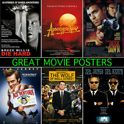 Great Movie Posters - A1, A2, A3, A4, A5